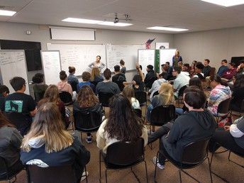 PLUS running forums for Freshmen Seminar