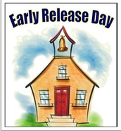 Early Release Day- Friday, Sept. 8th