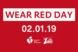 National Wear Red Day-Feb. 1, 2019