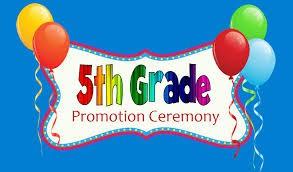 Grade 5 Promotion Information