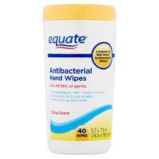 Antibacterial Wipes-Supply list