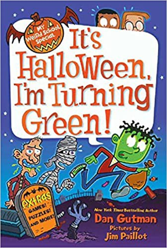 A book your child might like...It's Halloween, I'm Turning Green! by Dan Gutman