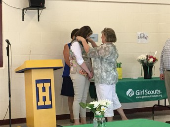 Gibbons Receives Girl Scouts Gold Award