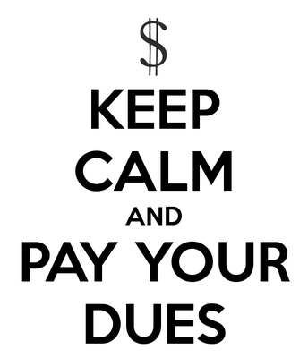 Payment of Dues