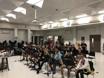 Jazz Band Rehearsal Schedule