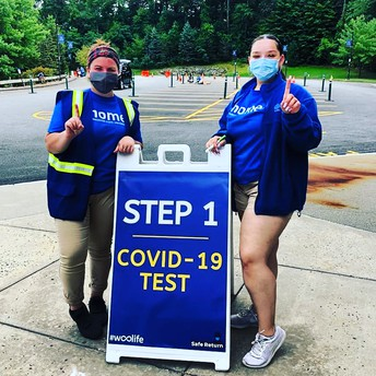 WEEKLY COVID Testing is MANDATORY FOR RESIDENTS