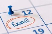 1st Semester Mandatory Exam Dates