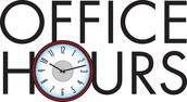 Pastors Office Hours