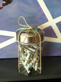 Message in Jar