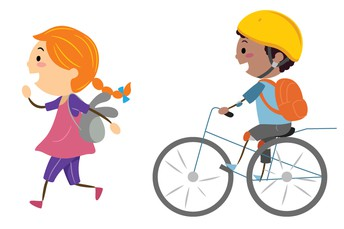 Walk or Bike to School