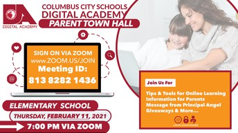 CCSDA Elementary School Parent Town Hall Meeting
