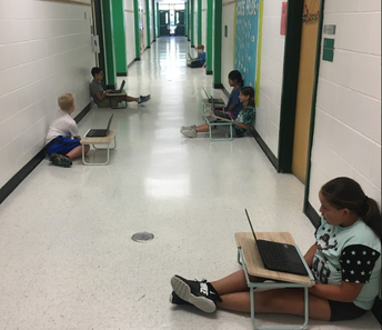 Learning can occur anywhere at the Farm!
