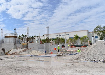 Construction underway at Falcon Cove Middle School