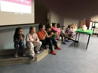 Grade 4 Assembly:  YOU ARE SPECIAL