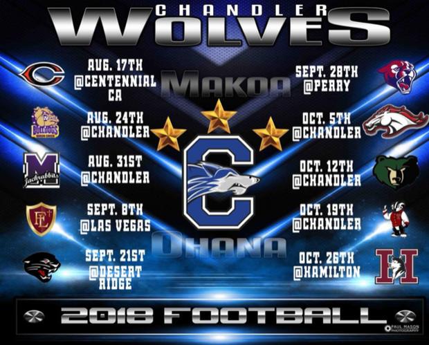 CHS Football Schedule
