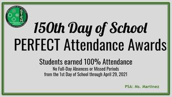 Perfect Attendance!
