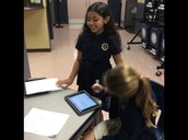 Students collaborate for understanding