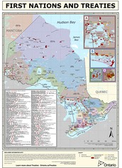 Ontario Map of Treaties