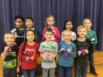 First Grade Perfect Attendance