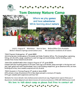 Tom Denney Nature Camp (Summer)