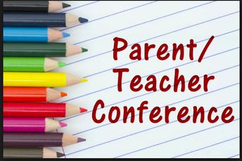 Parent Teacher Conferences November 5-13, 2018