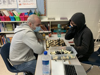 The chess challenge continues...student records are growing