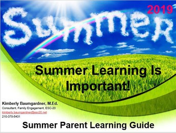 Summer Learning is Important!