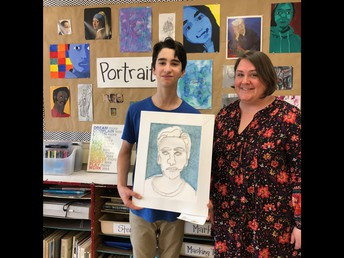 Congratulations to our Scholastic Art Award Winner