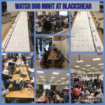 Watch D.O.G. night was a huge success