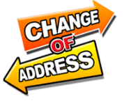 MOVING/CHANGE OF ADDRESS