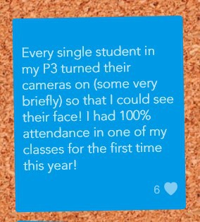 We Love Seeing Student's Faces