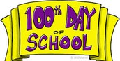 School Year Milestone Reached - 100 Days of School!