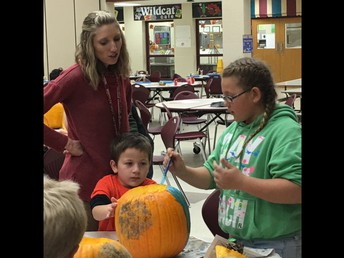 2nd and 5th grade Halloween Fun