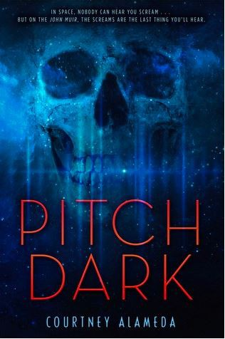 Pitch Black by Courtney Alameda