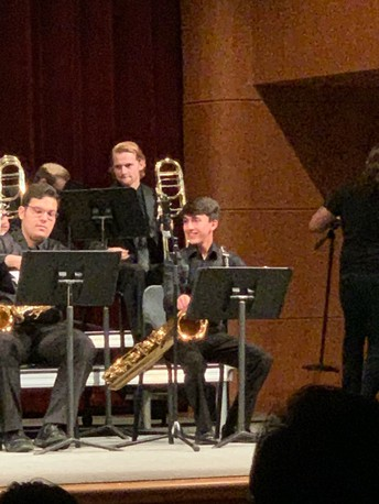 Great Job Jacob Soto at the Region Jazz Concert!