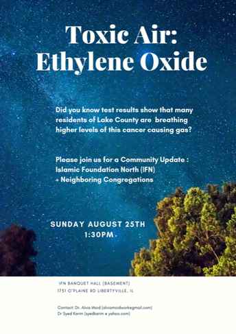 Community Update on Ethylene Oxide EtO