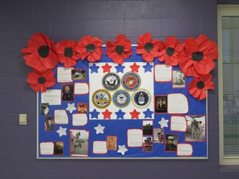 Veterans Day Program Parent Involvement Luncheon
