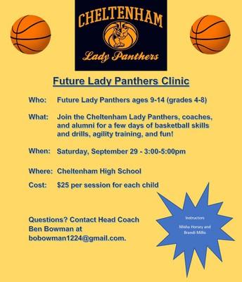 Future Lady Panthers Clinic