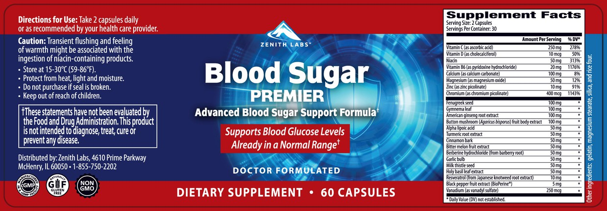 Blood Sugar Premier Ingredients List