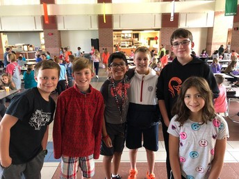 2nd Lunch (6th Grade) Crew