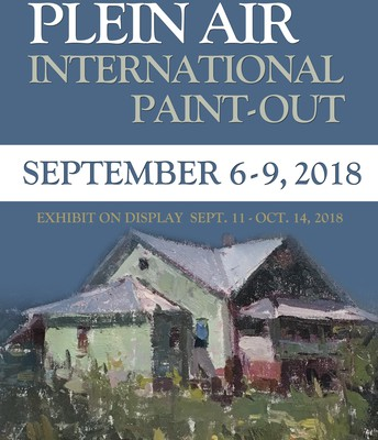 Fall Plein Air International Paint Out:  September 6 –9, 9am-4pm