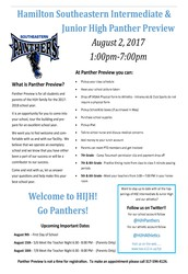 HIJH Panther Preview