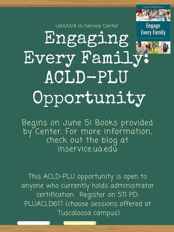 Final Meeting: Engage Every Family ACLD PLU