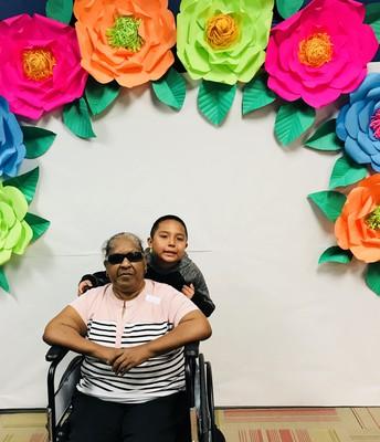 Estevan loves his grandma!