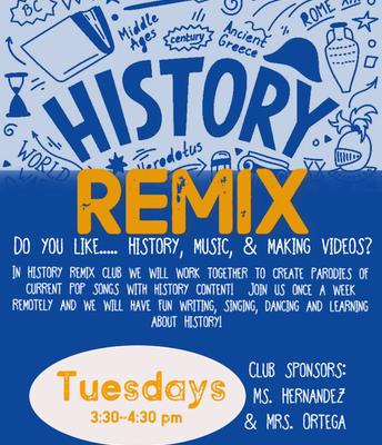 History Remix with Ms. Hernandez & Ms. Ortega