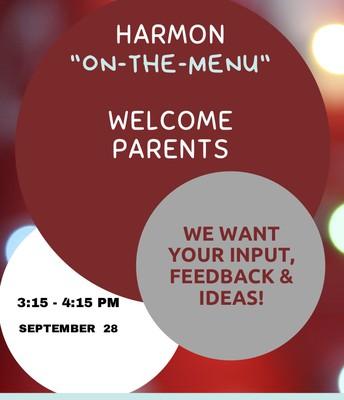 "Harmon ""On The Menu"" September 28th Summary"