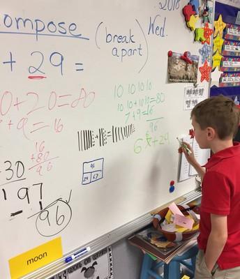 Great Math Strategies in 2nd Grade!