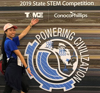 Alief ISD students took top honors at the 34th Annual Texas Alliance for Minorities in Engineering State STEM Competition, sponsored by ConocoPhillips.