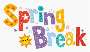Spring Break March 29th-April 2nd (+ Easter Monday on April 5th)