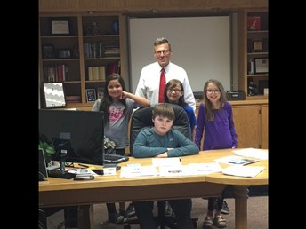 Lincoln Elementary Students Take Charge of the District